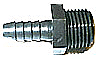 Hose Barb (HB 1/4th inch) to Male Pipe Threads(3/8th inch MPT) adapter