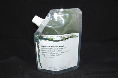 Tadpole Food, Algae Mix 2oz Pouch