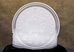 Fabric Lined Lids, 50